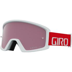 Giro Blok Occhiali Mtb, trim red/vivid trail/clear